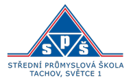 Střední průmyslová škola Tachov, Světce 1 Logo